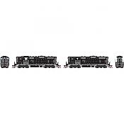 Athearn Genesis G82303 HO Scale - GP7 Diesel, A+B Sets, w/ DCC & Sound - ATSF Zebra Stripe #2790/2790A