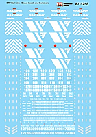 Microscale Decals 871258 HO - SRY Rail Link, Diesel Hoods and Switchers - Waterslide Decals