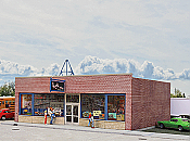 Walther's 3475 HO Cornerstone Hobby Shop