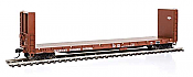Walthers Proto 104320 HO 50 Ft CC&F Bulkhead Flatcar - Canadian National CN #603418