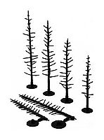 Woodland Scenics 1124 HO Pine Tree Armatures