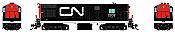 Rapido 044034 HO FM H16-44, Standard DC, Canadian National: Wet Noodle Scheme No.2202
