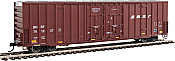 Walthers 2905 HO 60ft High Cube Plate F Boxcar BNSF #761257
