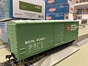 Athearn RTR 67475 HO - 40 Ft Modernized Box - BCOL (3 pack)