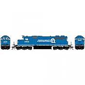 Athearn RTR 88644 - HO SD38 - DCC Ready - Conrail #6953