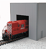 Herpa Models HO 6323 Single-Bay Modern Warehouse (Plastic Kit)
