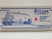 Sylvan Scale Models 1047 HO Scale - CNR Long Barrel Ore Car - Unpainted and Resin Cast Kit