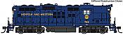 WalthersProto 49706 HO - EMD GP9 Phase II, High Short Hood - Standard DC - Norfolk & Western #806