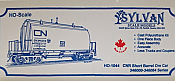 Sylvan Scale Models 1044 HO Scale - CNR Short Barrel Ore Car - Unpainted and Resin Cast Kit