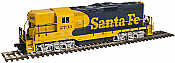 Atlas 10 002 007 HO Master Line GP-7  DCC Ready - Santa Fe 2712