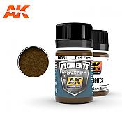 AK Interactive 081 Dark Earth Pigment 35ml