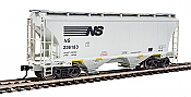 Walthers 7542 HO Scale - 39Ft Trinity 3281 2-Bay Covered Hopper - Norfolk Southern NS #236183
