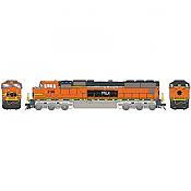 Athearn Genesis G70654 - HO SD75M Diesel, w/DCC & Sound, PRLX ex Warbonnet #238