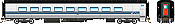 Rapido 131108 HO Via Rail Tempo – Coach 372