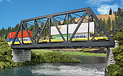 Walthers Cornerstone 4510 HO Modernized Double-Track Railroad Truss Bridge