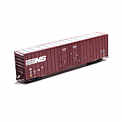 Athearn 75042 HO RTR 60 FT Gunderson Double Door Hi-Cube Box, Norfolk Southern NS #471274