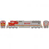 Athearn HO G69176 EMD SD75I BNSF-Warbonnet #8279 DCC Ready