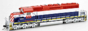 Bowser 25073 - HO GMD SD40-2 - DCC Ready - Wheeling & Lake Erie (ex BCR) #6358