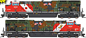 Intermountain 497109S-01 - HO ET44 Tier 4 - DCC & Sound - CN/Veterans #3015