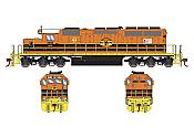 Athearn RTR 72107 HO Scale - SD40-2 - w/DCC & Sound - RCP&E #3454