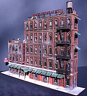 ITLA ScaleModels Inc HO 4160 Southside Hotel Kit