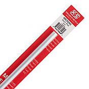 K&S Engineering 83046 All Scale - 12inch Long Round Aluminum Rod - 5/16 inch Diameter