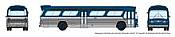 Rapido 573096 N - 1/160 New Look Bus - Generic Blue