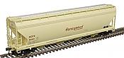 Atlas 20006384 - HO ACF 5250 Covered Hopper - Honeymead (ACFX) #56981