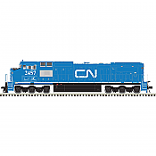 Atlas 10 002 299 HO Dash 8-40CW Locomotive w/DCC and LokSound Master Gold Canadian National (IC)#2455