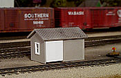 Pikestuff 6 HO Tool and Handcar Shed