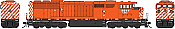 Bowser HO 24990 CM&Q GMD SD40-2F DCC and Sound #9024