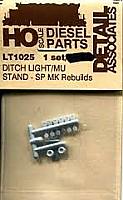 Detail Associates - Ditch Light-/MU Stand - SP MK Rebuilds