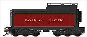 Rapido Trains 600094 HO Scale Canadian Pacific Royal Hudson 12,000 Gallon Tenders - Oil Tender w/Commonwealth Trucks