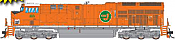 Intermountain 497111-01 - HO ET44 Tier 4 - DCC Equipped - CN Heritage/Elgin, Joliet and Eastern #3023