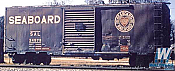 Kadee 5128 HO - PS1 40 Ft Boxcar with 8 Ft Door - Ready to Run - Seaboard Air Line #24579