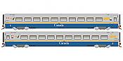 Rapido 108035 HO Scale LRC Coach VIA Canada Scheme Unnumbered- Pre Order
