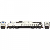 Athearn 70617 HO SD70 DCC & Sound Norfolk Southern/Flare Grey Ghost #2633