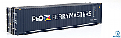 Walthers 8573 HO SceneMaster - 45 Ft CIMC Container - Assembled - P&O Ferrymaster