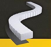 "Woodland Scenics 1409 SubTerrain System -  Foam Riser Set - 4"" pkg(2)"