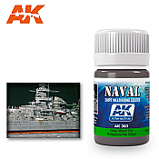 AK Interactive 303 Kriegsmarine Ship Grey Wash Enamel Paint 35ml