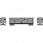 Athearn Roundhouse HO 2210 40ft Steel Reefer PFE/Aluminum #45699