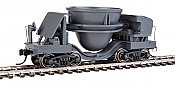 Walthers Proto 107910 HO Scale - Slag Car - Gray with Decal Numbers (Undecorated/Unlettered) - pkg(2)