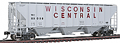 Walthers 41253 HO Platinum Line PS2-CD 4427 High-Side Covered Hopper- Wisconsin Central 85058