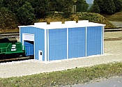 Pikestuff 8002 - N Scale Small Engine House (Scale: 30 x 60ft)