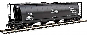 Walthers Mainline HO 7350 59 Ft Cylindrical Hopper - Round Hatches - Toronto, Hamilton & Buffalo TH&B #1532