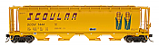 Intermountain 65106-18 N Scale - Cylindrical Covered Hopper - Trough Hatch - Scoular #1450