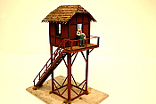 ITLA ScaleModels Inc Ho 4046 Erie Crossing Gate Tower
