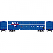 Athearn HO Scale 14972- 50 Ft FMC 5347 Box Car Port Huron & Detroit #2033