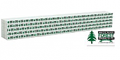 Walthers SceneMaster 3168 - HO Wrapped Lumber Load for 72ft Centerbeam Flatcar - White River Forest Products