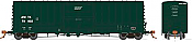 Rapido 137006-C HO Scale - B-100-40 Boxcar: Amtrak Green - Single Car #70021